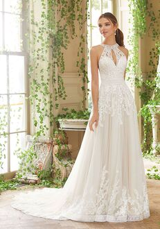 Morilee by Madeline Gardner/Blu Poppy A-Line Wedding Dress
