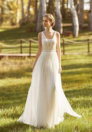 Aire Barcelona KELSEY Sheath Wedding Dress