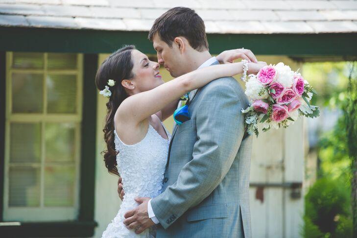 Newlyweds Celebrate Their Wedding in Bucks County, Pennsylvania