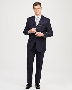 Jos. A. Bank Notch Lapel Navy Tuxedo Blue Tuxedo