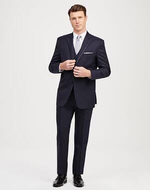 Jos. A. Bank Notch Lapel Navy Tuxedo Blue Tuxedo