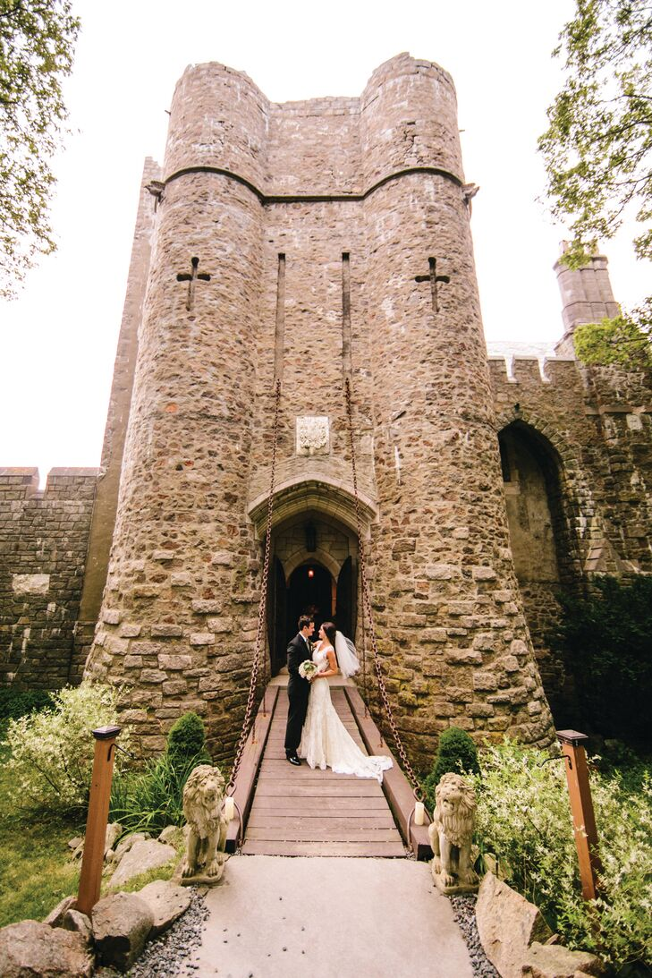 Hammond Castle in Gloucester, MA wedding venue
