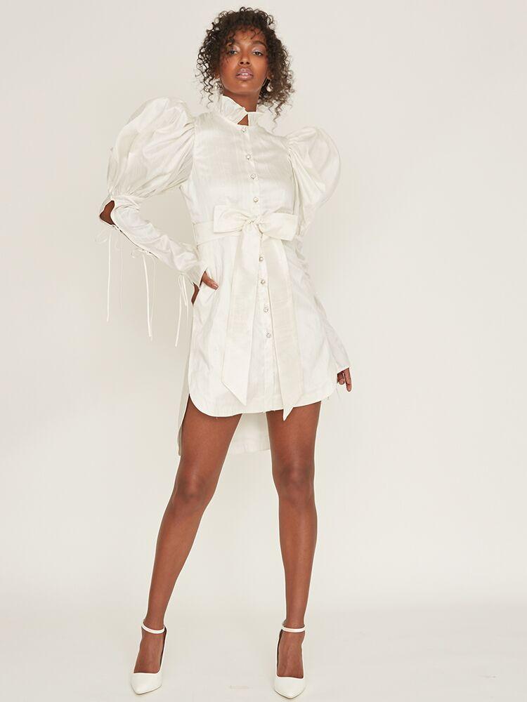 Odylyne The Ceremony shirt mini dress