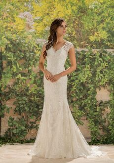 Jasmine Collection F181007 Mermaid Wedding Dress