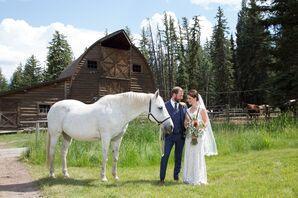 Postceremony Farm Animal Photo Op