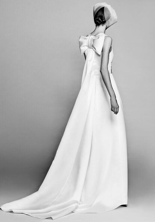 Viktor&Rolf Mariage Watteau Pleat Column Dress Wedding Dress - The Knot
