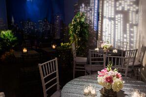 Modern Restaurant Wedding Reception