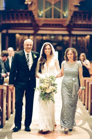 Holy Name Cathedral Wedding Ceremony
