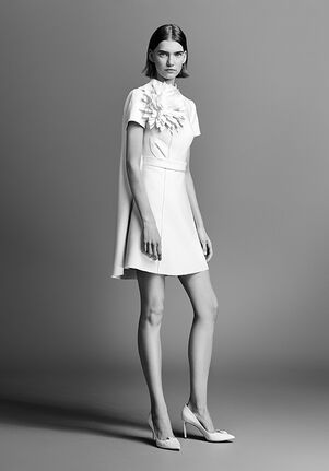Viktor&Rolf Mariage COUTURE FLOWER MINI A-Line Wedding Dress