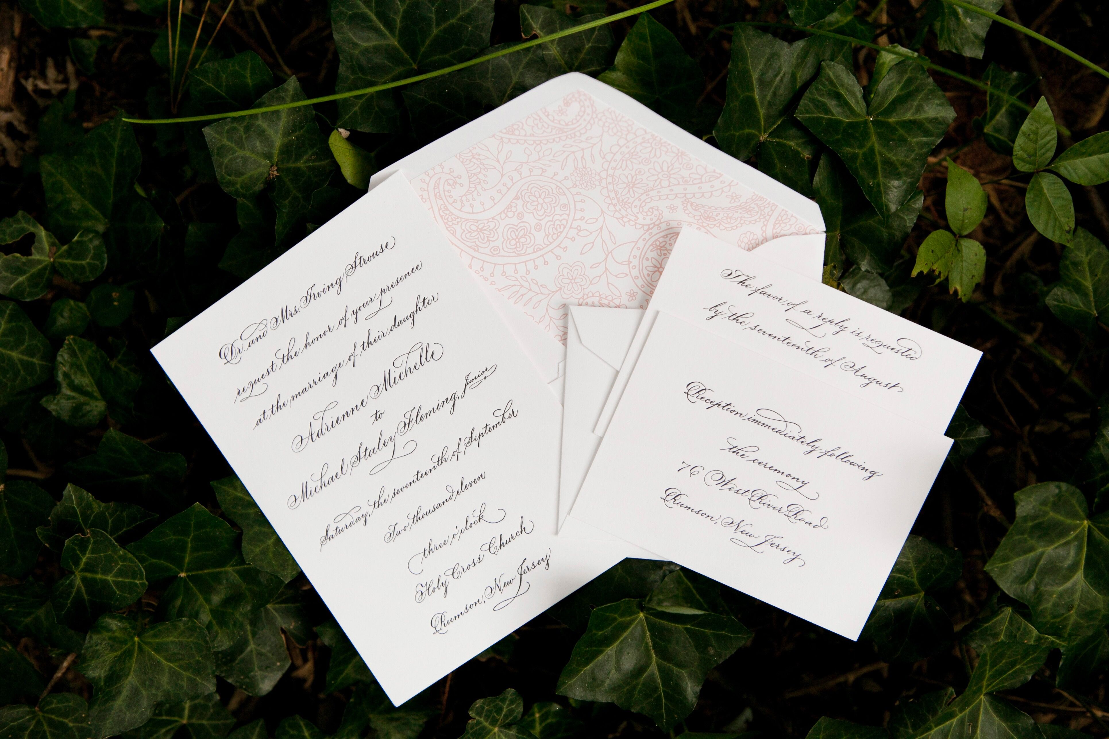 Invitations + Paper in Manhattan, NY - The Knot