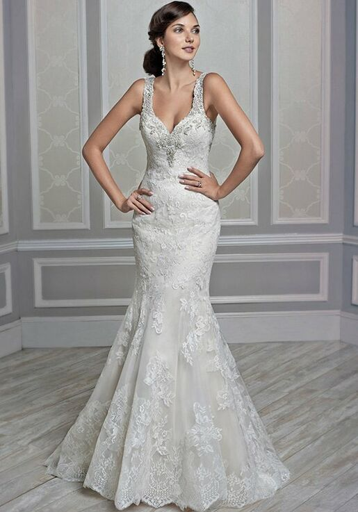 e5d7fe172c3 Kenneth Winston 1605 Wedding Dress - The Knot