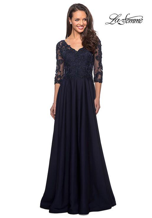 La Femme Evening 27235 Brown Mother Of The Bride Dress