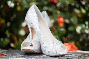 Benjamin Adams Charlize Embellished Bridal Heels