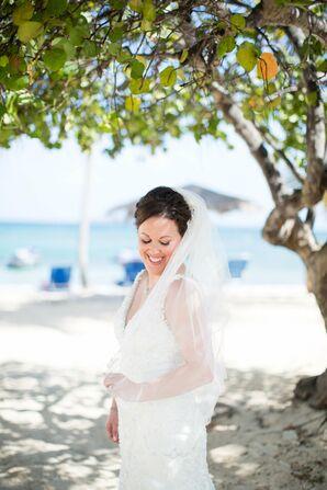 Natural Bridal Makeup for Beach Destination Wedding