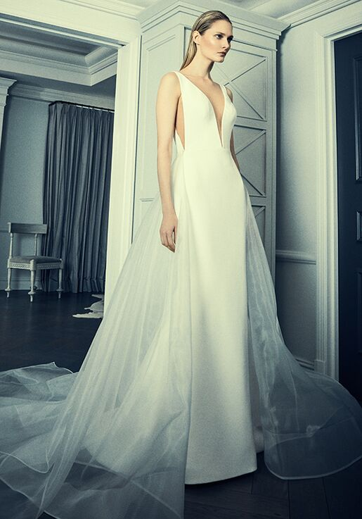 Romona Keveza Collection Rk8400 Skt A Line Wedding Dress