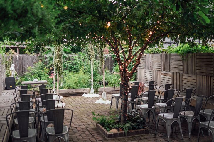 Intimate Backyard Ceremony at Faun in Brooklyn, New York
