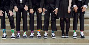 Fun, Colorful, Mix-and-Match Groomsmen Socks