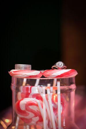 Bold Round-Cut Diamond Engagement Ring