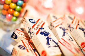 Cracker Jack Wedding Favor Treats