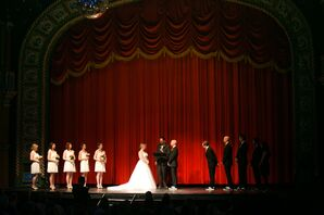A Fun Ceremony at Uptown Theater in Kansas City