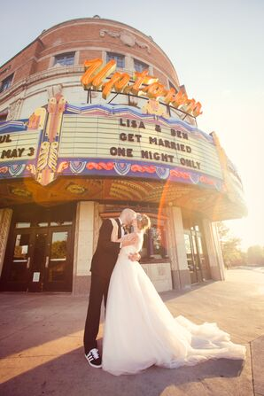 Lisa and Ben at Uptown Theater