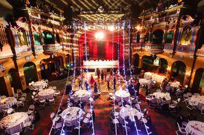 A Hollywood-Themed Wedding Reception in Kansas City