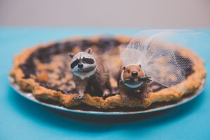 Pie with Animal Toppers