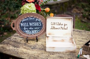 Well Wishes Guest Book Alternative