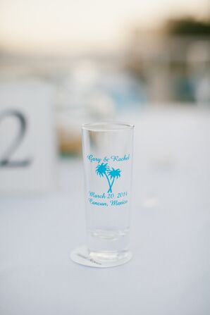 Custom Shot Glass Destination Wedding Favors