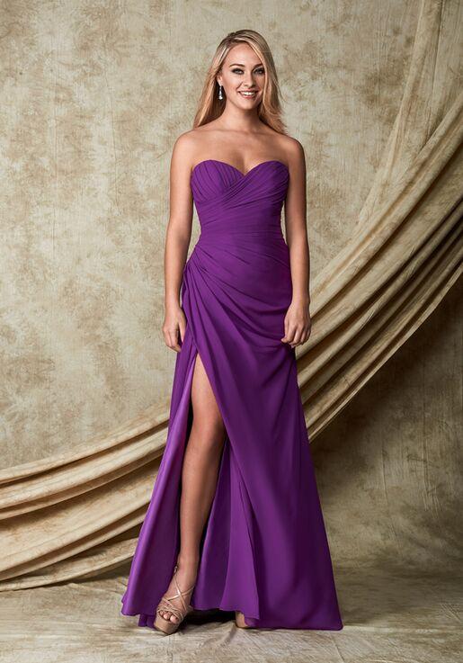 1 Wedding by Mary's Modern Maids M1826 Sweetheart Bridesmaid Dress