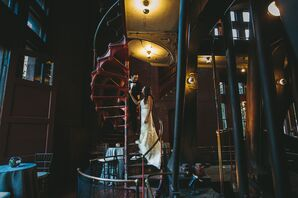 Industrial-Chic Wedding Reception