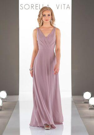 805fb975235 Sorella Vita 9072 V-Neck Bridesmaid Dress