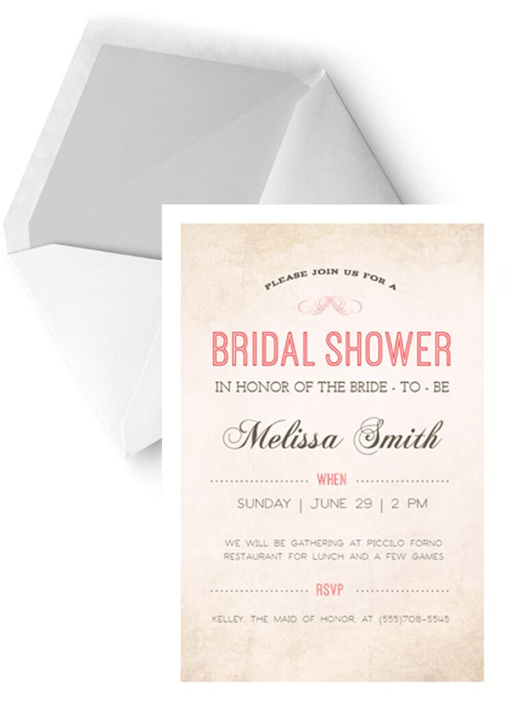 Printable bridal shower invitations you can diy simple diy printable bridal shower invitation template filmwisefo