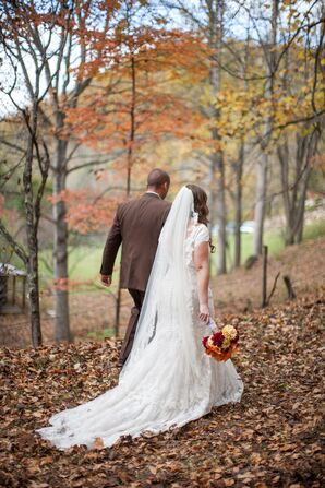 Whitney and Aaron's Fall Mountainside Wedding