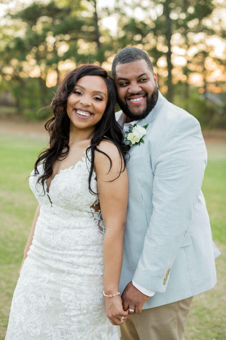 Couple at Minimony in Columbia, South Carolina