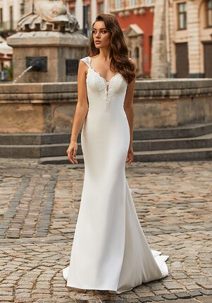 Moonlight Collection J6814 Mermaid Wedding Dress