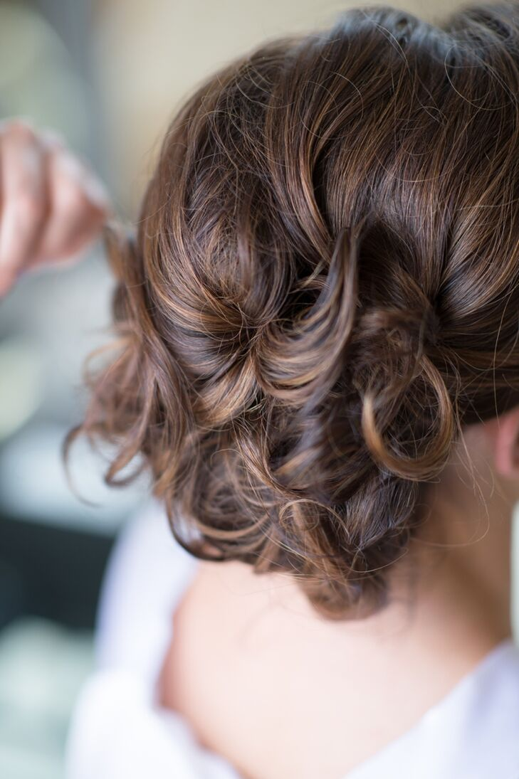 Elegant Updo with Curls