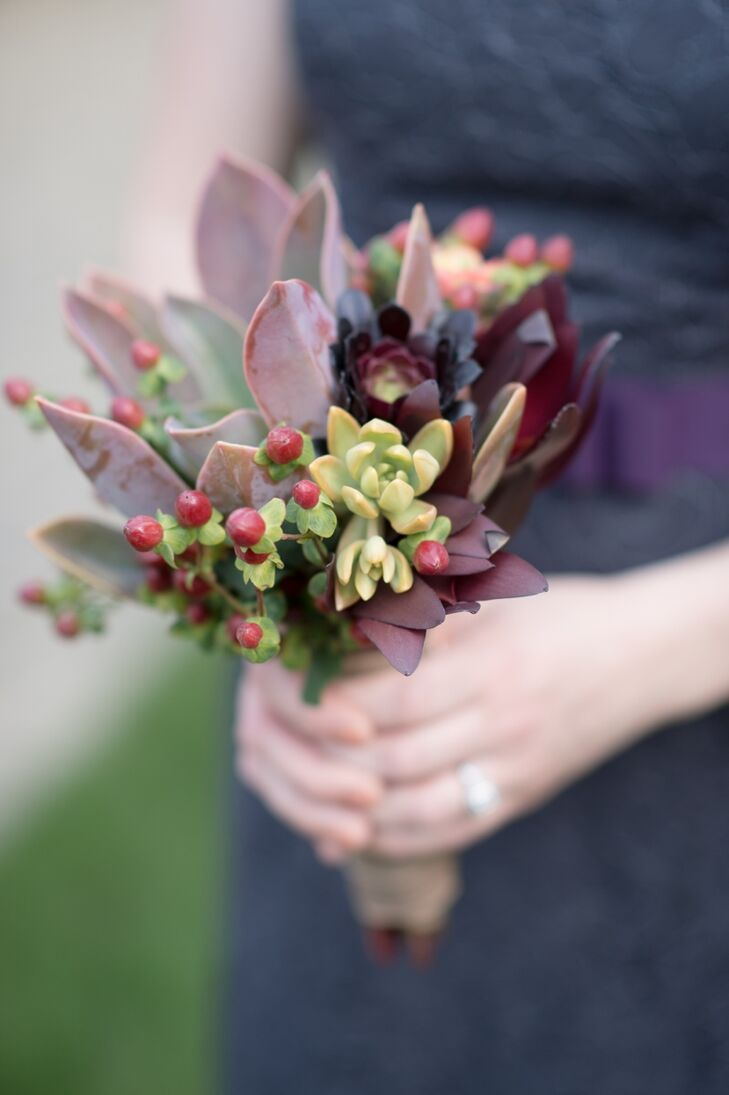 Rustic Succulents Bouquet
