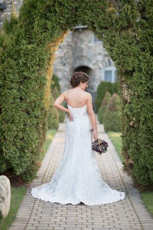 Cortney in Maggie Sottero Wedding Dress