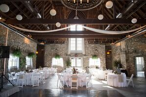 Rustic Reception Venue at Castle Farms