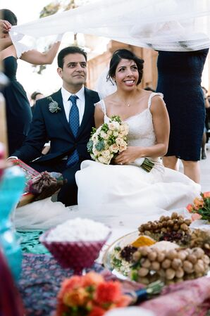 The First Look After the Ceremony