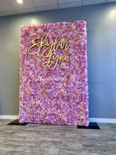 Detroit Flower Wall