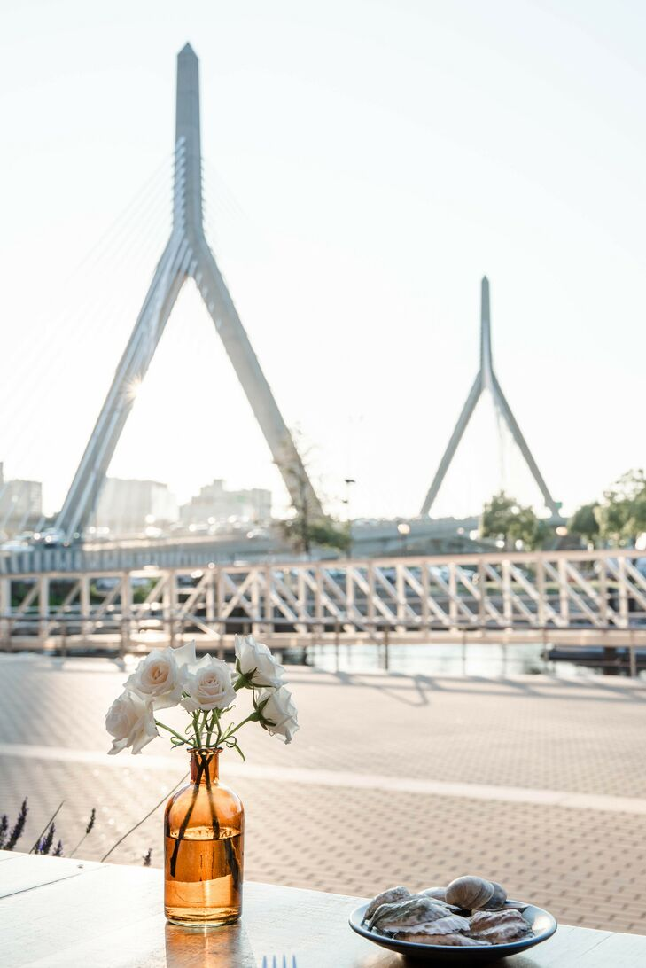 View of Boston, Massachusetts, From Intimate Wedding Celebration