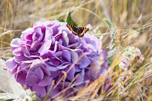 Purple Hydrangea Bouquets