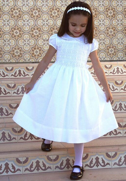 8c84ce06532 Isabel Garretón Heirloom Flower Girl Dress - The Knot