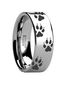 Mens Tungsten Wedding Bands F0946 Tungsten Wedding Ring