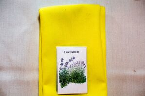 Lavender Seed Packet Wedding Favor