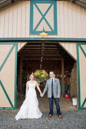 Rustic Flower Farm Wedding