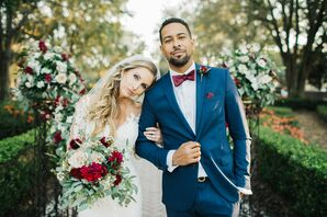 Bride and Groom in Kissimmee, Florida