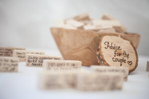 DIY Wooden Advice Cards